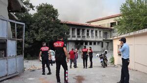 (Geniş haber) Zeytinburnunda fabrika yangını