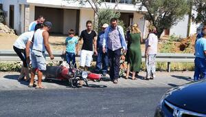 Motosiklet, otomobile arkadan çarptı: 1 ölü, 1 yaralı