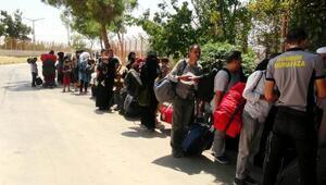 Türkiyeye dönen Suriyeli sayısı 44 bine ulaştı