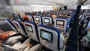Uçaklarda boş koltuk yok