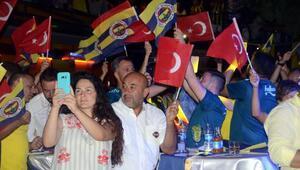 Bodrumda Fenerbahçe coşkusu