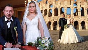 Romada evlendiler