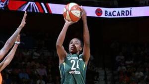 WNBAde Seattle galip geldi
