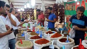 Silopide 81 ilin lezzetlerinin sergilendiği pazar