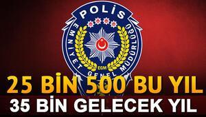 EGM 25 bin 500 polis alımı yapacak Gelecek yılın sayıları da belli oldu