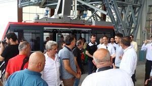 Trabzonda yapılan 3 bin 600 metrelik teleferik basına tanıtıldı