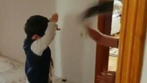 3 yaşındaki çocuğu terlikle döven bakıcıya tahliyeye tepki