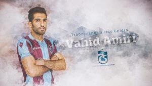 Vahid Amiri, Trabzonsporun 125. yabancısı oldu