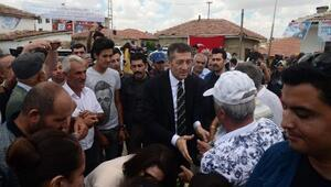 Milli Eğitim Bakanı Selçuka hemşehrilerinden coşkulu karşılama
