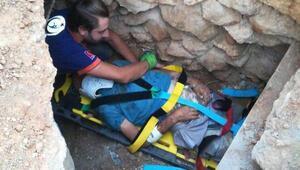 Kaybolan yaşlı adam, evinin altındaki kanalda bulundu