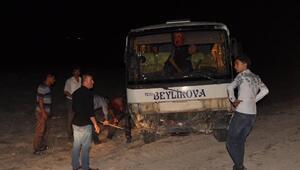 Eskişehirde kaza: 1 ölü, 14 yaralı