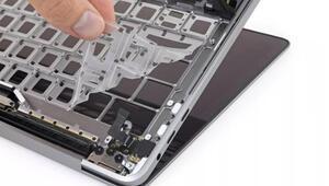 Appleın klavyesi söküldü, içinden bakın ne çıktı