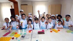 Yenimahallenin yaz okullarına yoğun ilgi