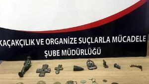 Nevşehirde tarihi eser operasyonu
