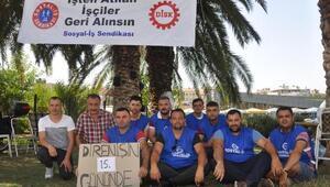 Aydın Büyükşehirde işten çıkarılan 9 şoför, işini geri istiyor