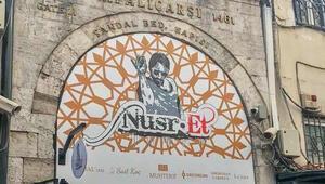 Kapalıçarşının kapısındaki Nusret tabelası kaldırıldı