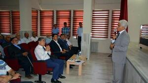 İl Tespit Kurulu kültürel miras için Tomarzada toplantı yaptı