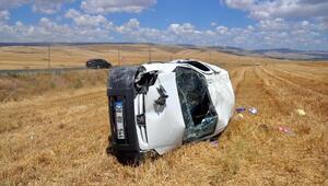 Sarıoğlan'da trafik kazası: 2si çocuk 4 yaralı