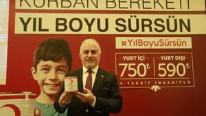 Kızılay Vekaletle kurban kesim kampanyasını başlattı