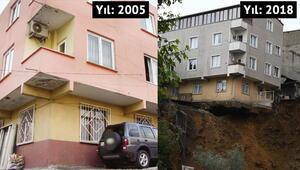 Sütlücede yıkılan bina ile ilgili çarpıcı gerçek ortaya çıktı