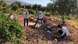Kiliste kaçak kazıda mozaik bulundu