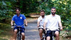 Antalyaspor ormanda bisiklet turu yaptı