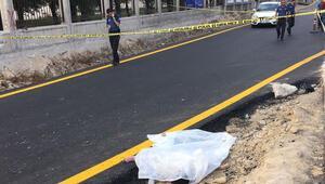 Başkentte yol kenarında kadın cesedi