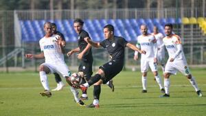 Aytemiz Alanyaspor, hazırlık maçında Osmanlıspora 2-1 yenildi