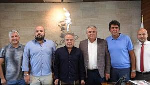 Başkan Muhittin Böcek: Antalyaspor'un her zaman yanındayız