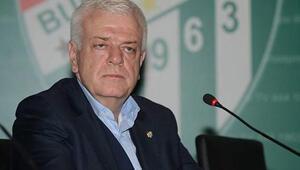 Bursaspor Başkanı Ali Ay'dan Aziz ve Ekong açıklaması