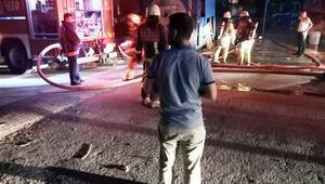 İstanbulda aynı gecede 2 fabrika yandı