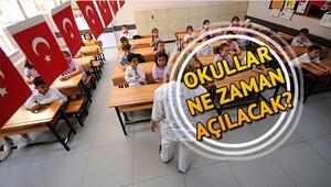 Okullar ne zaman açılacak Yaz tatili ne zaman bitecek İşte 2018-2019 eğitim yılının başlangıcı