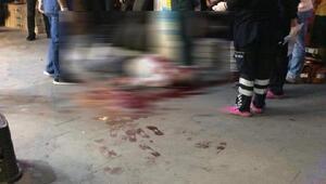 Cadde ortasında başından vurularak öldürüldü