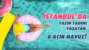 İstanbul'da Yazın Tadını Yaşatan 8 Açık Havuz