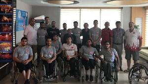 U22 Tekerlekli Sandalye Basketbol Milli Takımı, Avrupa Şampiyonasına Çanakkalede hazırlanacak