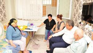 Balçova'da yaşlıları sevindiren destek