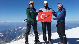 'Mont Blanc bir rüya ve bu rüya bize de nasip oldu'