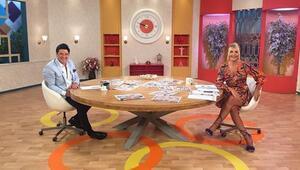 Seda Akgül canlı yayında TV 8 ekranlarına veda etti