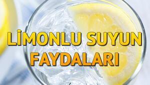 Limonlu su ne işe yarar Limonlu suyun faydaları