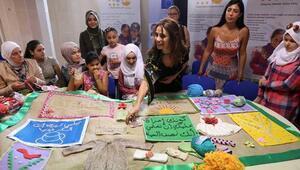 Songül Öden, Suriyeli kadınlarla buluştu
