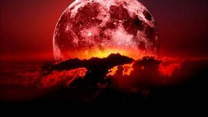 Ay tutulması canlı yayın: Kanlı Ay tutulması başladı... Ay tutulması Türkiyeden canlı olarak izlenebiliyor