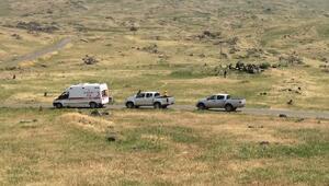 Iğdırda İl Özel İdaresinin araçlarına PKK saldırısı: 1 işçi kayıp/ Fotoğraf