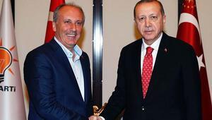 'İnce, Erdoğan'la mı yarıştı partiyle mi