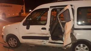 Amasya'da kamyonetler çarpıştı: 1i çocuk 6 yaralı