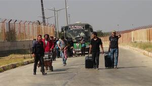 Bayram ziyaretine giden 49 bin Suriyeli döndü