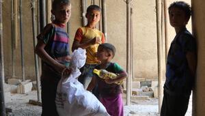 İHHdan Suriyeli yetimlere yardım