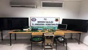 Mersinde kumar operasyonu: 2 gözaltı