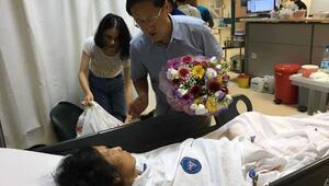 Kazada yaralanan Çinli turistlerin sağlık durumu iyi
