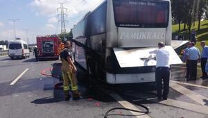 Esenlerde yolcu otobüsünde yangın-2