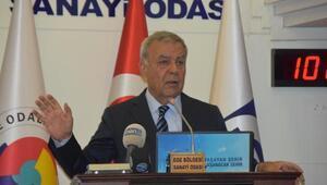 İzmir Büyükşehir Belediye Başkanı Aziz Kocaoğlundan stat çıkışı